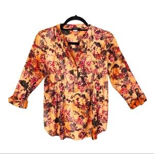 Cocomo 3/4 Sleeves Floral Blouse
